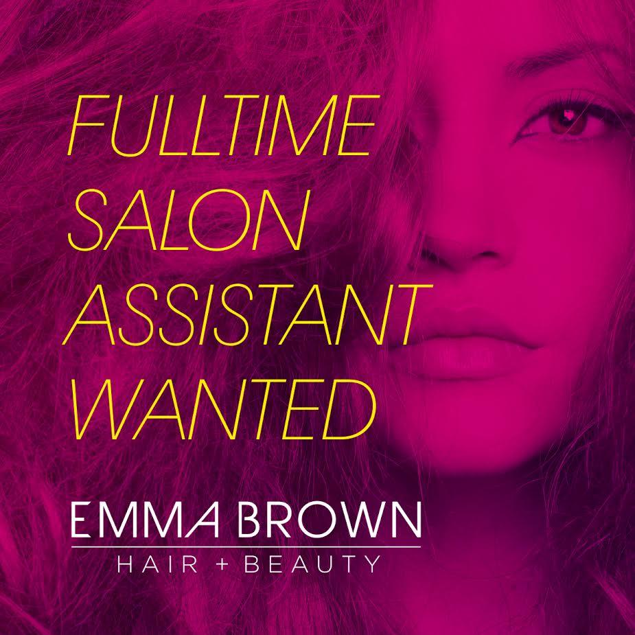 salon assistant wanted - Salon Assistant
